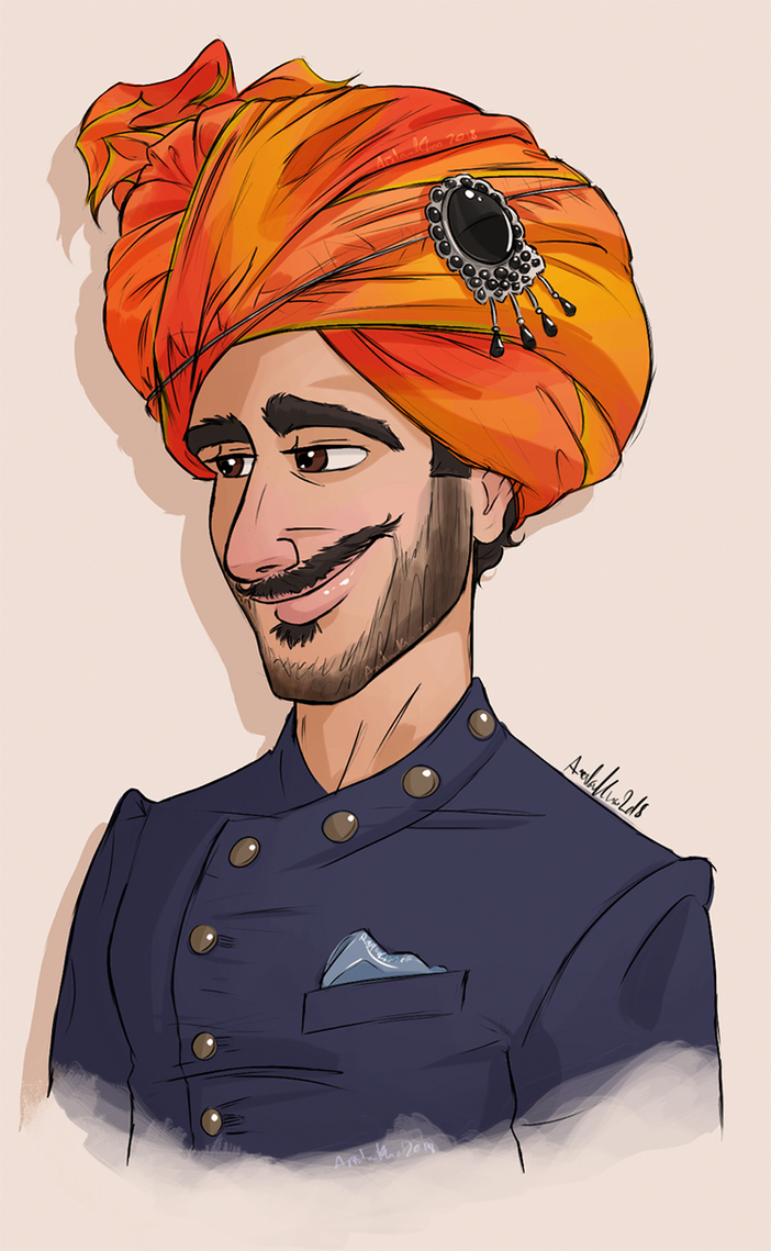 The Maharajadhiraja of Aryavarta!! by ArsalanKhanArtist