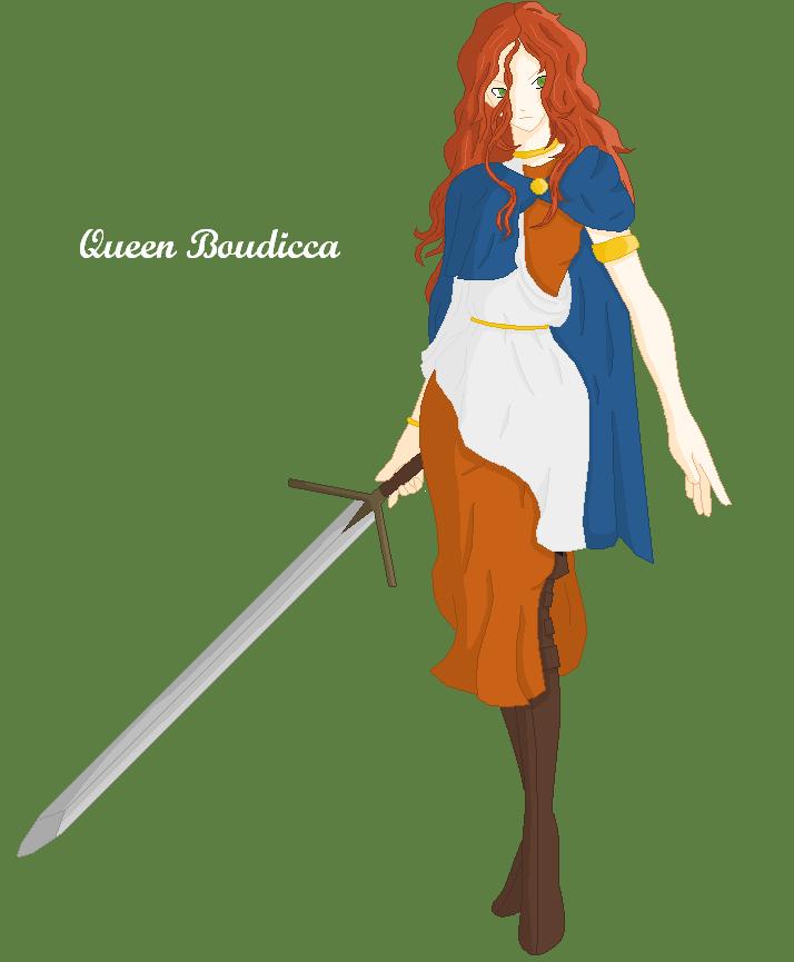 56da07f43 Queen Boudicca of the Iceni by Yukira-Hotoshi on DeviantArt