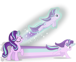 Starlight Glimmer's Flight and Speed Spells by GGalleonAlliance