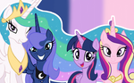 The Royal Princesses (Wallpaper)