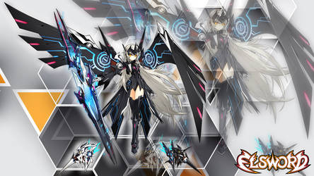(Elsword) - Code: Ultimate Eve Wallpaper by GGalleonAlliance