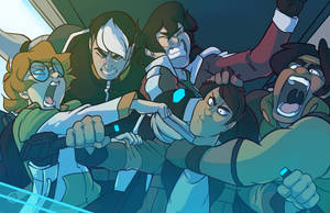 VOLTRON REDRAW by impossiblevariable