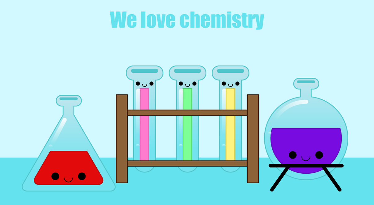 We love chemistry by to-much-a-thing on DeviantArt