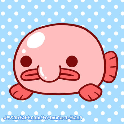 kawaii blobfish