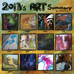 Summary of Art - 2013