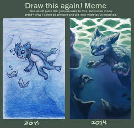Draw this again - Diving