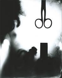 Scissor Shadow by Saskle
