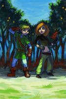 A Possible Link In The Woods by Saskle