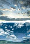 Speedpainting Challenge #3: Sky