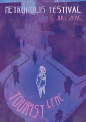 Metropolis Festival: Tourist LeMC poster by Saskle