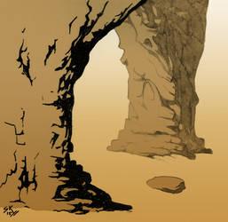 Desert Rock by Saskle