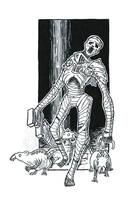 Inktober #13: Redead Knight by Saskle