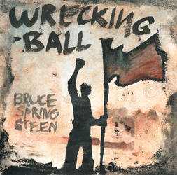 Wrecking Ball CD cover by Saskle