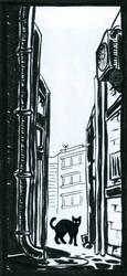 Inktober #31: Backstreets