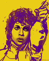 The Artist Formerly Known as Prince by Saskle