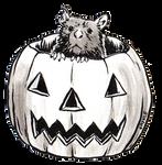 Inktober #31: Pumpkin! by Saskle