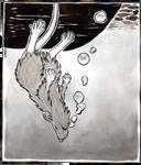 Inktober #29: Rat Overboard by Saskle