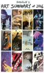 Art Summary 2016 by Saskle