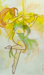 The Violin by Saskle