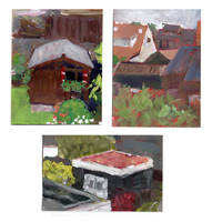 Garden Paintings by Saskle