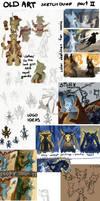 Old Art Dump Part 2 by Saskle