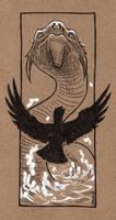 Inktober #5: Long by Saskle