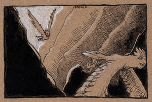 (Late) Inktober #20: Deep by Saskle