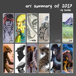 Art Summary 2017 by Saskle