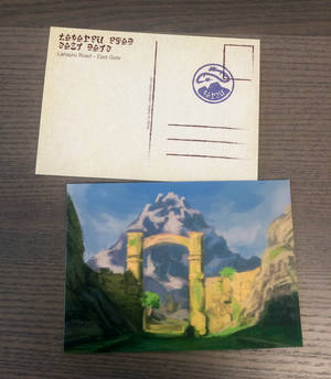 Postcard Mount Lanayru by Saskle