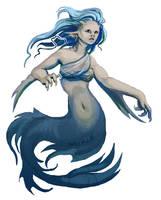 Mermaid by Saskle