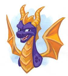 The Purple Dragon by Saskle