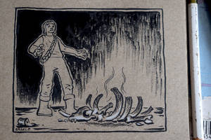 Inktober #19: Scorched