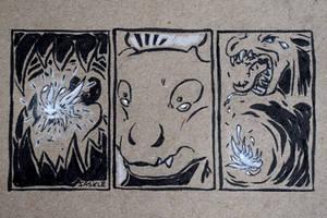 Inktober #25: Prickly