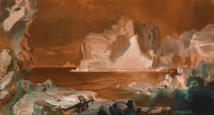 The Icebergs by Saskle