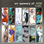 Art Summary 2018 by Saskle
