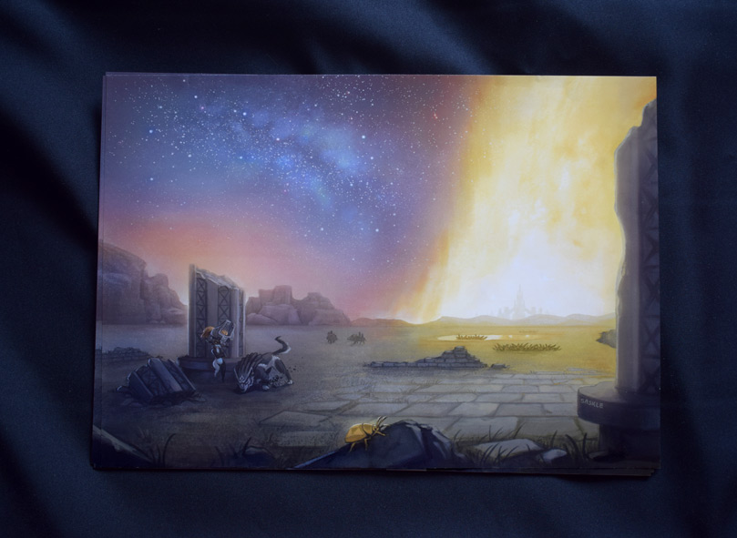 Zelda Anthology Print by Saskle