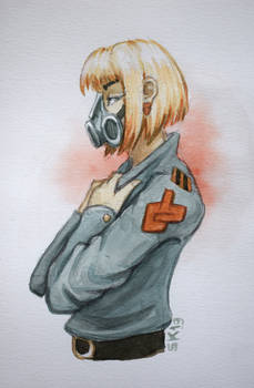Gas Mask Girl 1