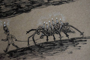 Inktober #3: Candelabra