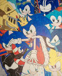 Sonic the Hedgehog 28th Anniversary Poster