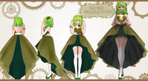 The Guardian of Time Gumi Megpoid [C:AIW] by MovingModelProject