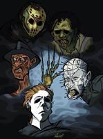Horror Classics by BrendanCorris