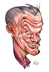 Jack Nicholson by BrendanCorris