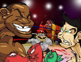 Little Mac vs. Mike Tyson by BrendanCorris