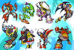 Mega Man X Bosses