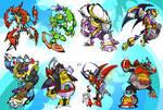 Mega Man X Bosses