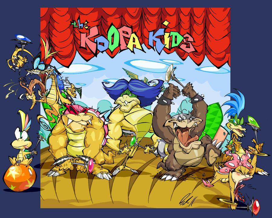 The Koopa Kids by BrendanCorris