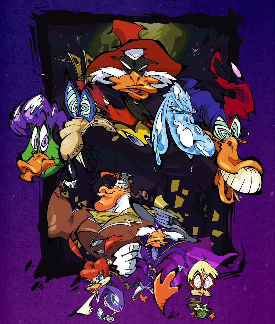 darkwing duck by brendancorris on deviantart