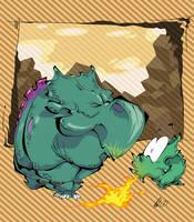 Plumber Haters - Dino Rhino by BrendanCorris