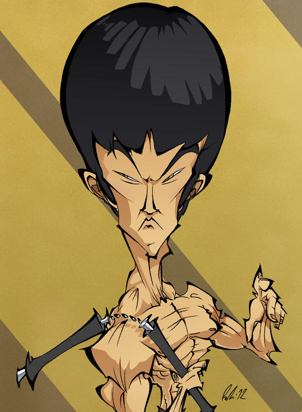 Bruce Lee by BrendanCorris