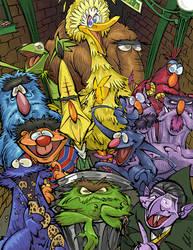 PBS Kids Support - Sesame Street by BrendanCorris